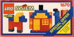 Lego 1670 Trial Size Box