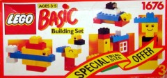 Lego 1676 Basic Building Set, 3+
