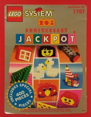 Lego 1707 20th Anniversary Jackpot Bucket