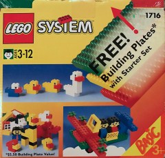 Lego 1716 Starter Set with Building Plates