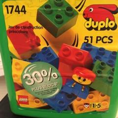 Lego 1744 Medium Bucket
