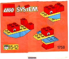 Lego 1758 Animals