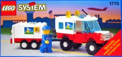 Lego 1773 Airline Maintenance Vehicle with Trailer