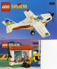Lego 1808 Light Aircraft and Ground Support