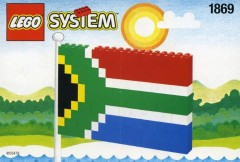 Lego 1869 South African Flag