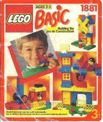 Lego 1881 Play Bucket of Bricks, 3+