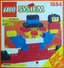 Lego 1884 Handy Bucket of Bricks, 3+