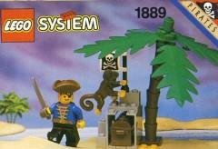 Lego 1889 Pirates Treasure Hold