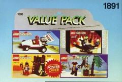 Lego 1891 Four Set Value Pack