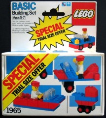 Lego 1965 Building Set, Trial Size Offer