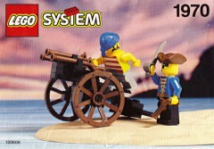 Lego 1970 Pirates Gun Cart