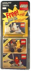 Lego 1977 Special Three-Set Space Pack