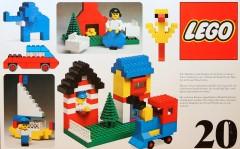 Lego 20 Basic Building Set, 3+
