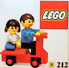 Lego 212 Scooter