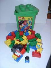 Lego 2124 Green Bucket