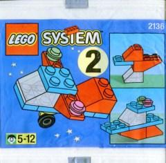 Lego 2136 Aeroplane