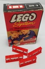 Lego 214_2 1 x 6 x 2 Triple-Pane Window in Frame