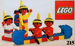 Lego 215 Red Indians