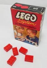Lego 219 2 X 3 Bricks