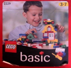 Lego 2229 Basic Building Set, 3+