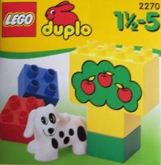 Lego 2270 Spotty Dog Set