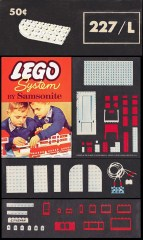 Lego 227_L 4 x 8 Left Curve Plates