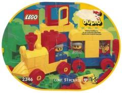 Lego 2346 Train Oval Suitcase