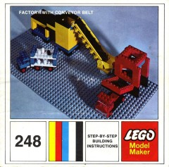 Lego 248 Factory with Conveyor Belt