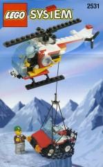 Lego 2531 Rescue Chopper