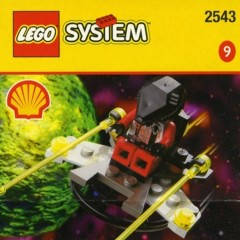 Lego 2543 Spacecraft