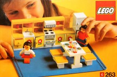 Lego 263 Kitchen