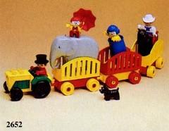 Lego 2652 Circus Caravan