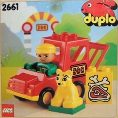 Lego 2661 Zoo Van