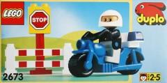 Lego 2673 Motorcycle Patrol