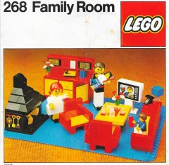 Lego 268 Family Room