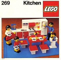 Lego 269 Kitchen
