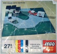 Lego 271 Mini-House with Vehicles