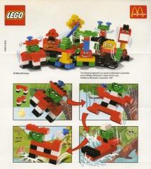 Lego 2729 Quattro Leg