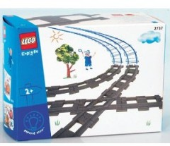 Lego 2737 Diamond Crossing and Track Pack