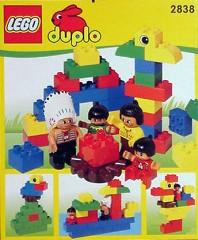 Lego 2838 Native American Family