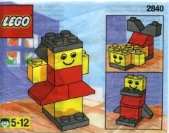 Lego 2840 Girl