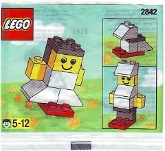 Lego 2842 Girl