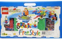 Lego 2907 Play Desk Set, Blue