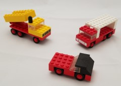 Lego 3 Mini-Wheel Model Maker No. 3 (Kraft Velveeta)
