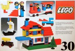 Lego 30 Basic Building Set, 3+