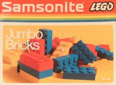 Lego 300 Jumbo Bricks