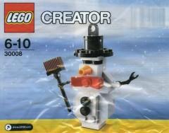 Lego 30008 Snowman