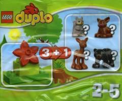 Lego 30217 Forest - Bear