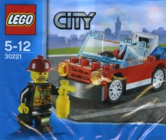 Lego 30221 Fire Car