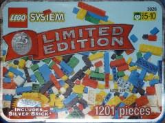 Lego 3026 Limited Edition Silver Brick Tub